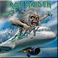 Iron Maiden: Flight 666 Fridge Magnet