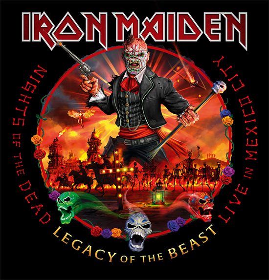 Iron Maiden: Legacy Of The Beast - Live in Mexico City (2xCD)