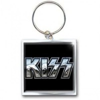Kiss: Chrome Logo Keychain