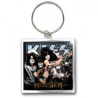 Kiss: Monster Metal Keychain