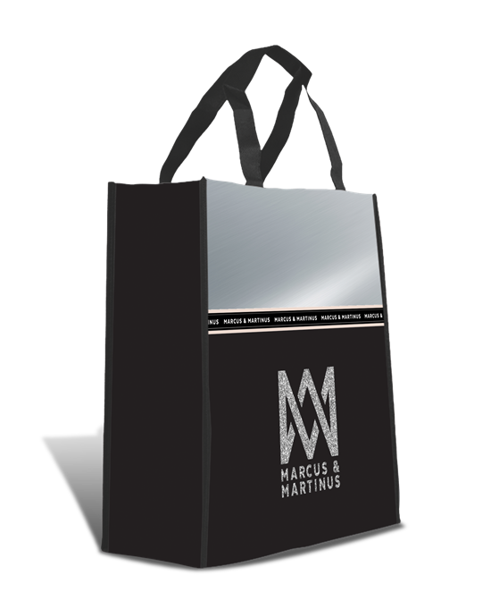 Marcus & Martinus: Shopping Bag Silver