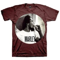 Marley, Bob: Smokin Circle T-shirt