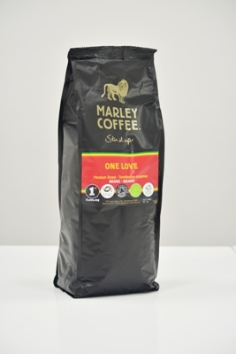 Marley Coffee: One Love Helbønner Stor Pose