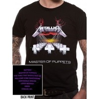 Metallica: Master Of Puppets T-shirt XXL