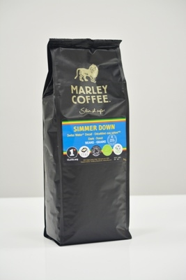 Marley Coffee: Simmer Down Blend Helbønner Stor Pose