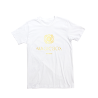 Tinderbox: Official Magicbox 2016 White Girl T-shirt