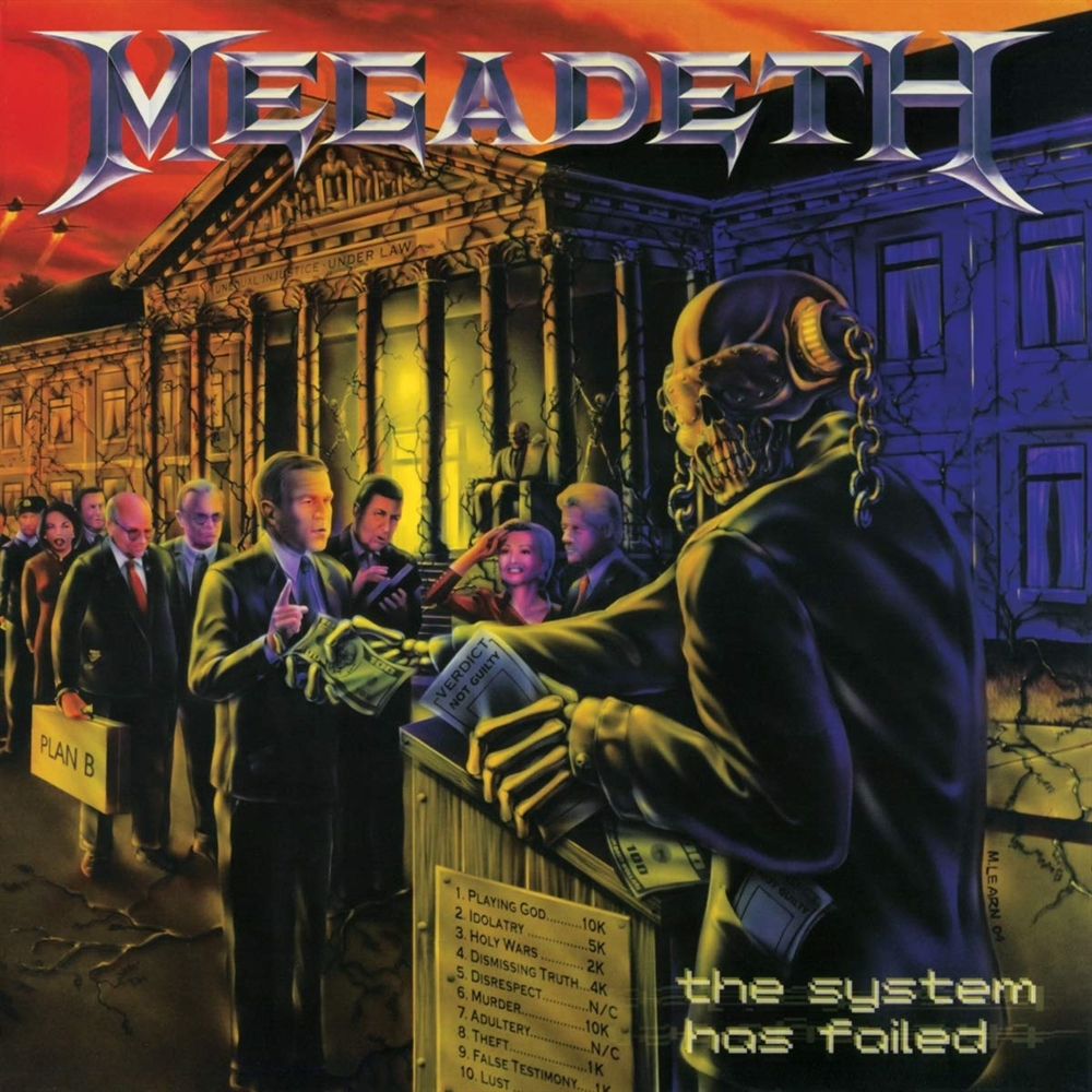 Megadeth: The System Has Failed (Vinyl)