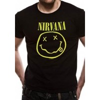 Nirvana: Smiley T-shirt
