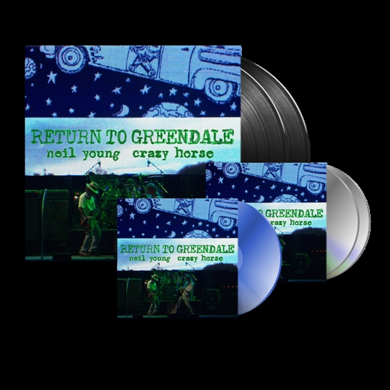 Young, Neil: Return To Greendale Dlx. Edition (2xVinyl/2xCD/Blu-Ray/DVD)