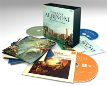 Diverse Kunstnere: Tomaso Albinoni - The Collector's Edition (16xCD)