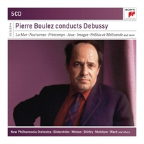 Boulez, Pierre: Conducts Debussy (5xCD)