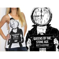 Queens Of The Stone Age: Mugshot Girl Tanktop