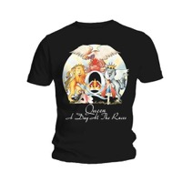 Queen: A Day At The Races T-shirt S