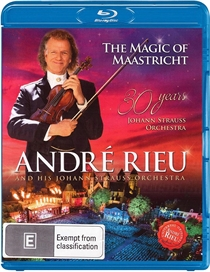Rieu, Andre: The Magic Of Maastricht - 30 Years of The Johann Strauss Orchestra (BluRay)