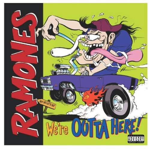 Ramones The: We\'re Outa Here (CD)