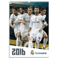 Real Madrid: Calendar 2016