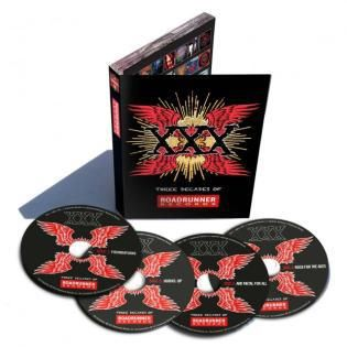 Diverse Kunstnere: XXX: Three Decades of Roadrunner Records (4xCD)