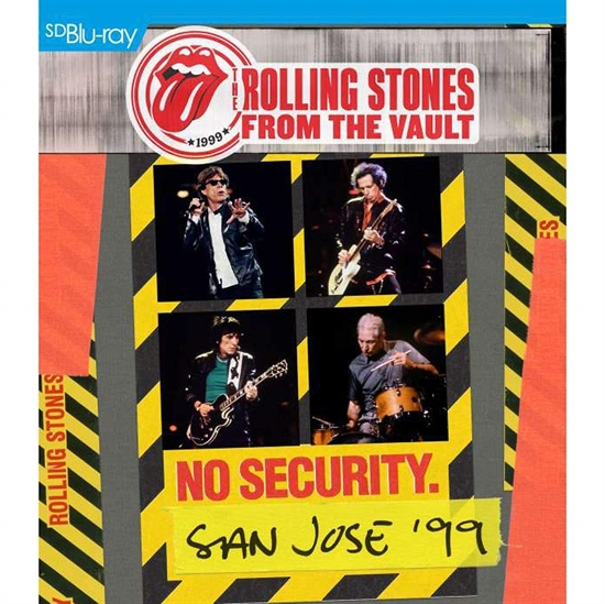 Rolling Stones, The: From The Vault - No Security - San Jose 1999 (BluRay)