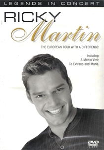 Martin, Ricky: European Tour With a Difference! (DVD)