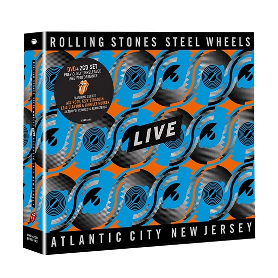 Rolling Stones, The: Steel Wheels Live (DVD+2xCD)