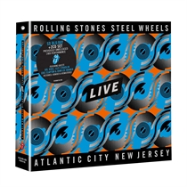 Rolling Stones, The: Steel Wheels Live (Blu-Ray+2xCD)