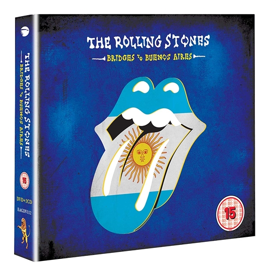 Rolling Stones, The: Bridges to Buenos Aires (2xCD+DVD)