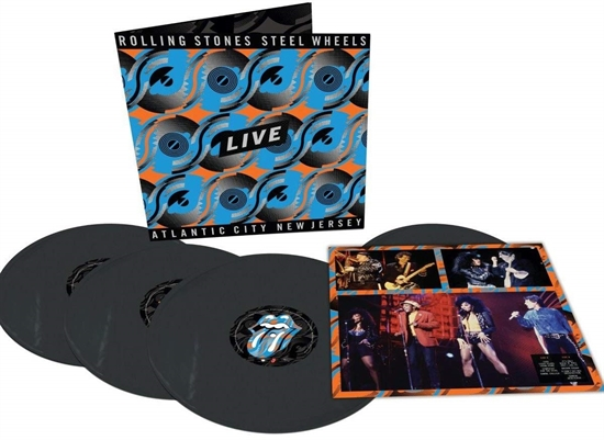 Rolling Stones, The: Steel Wheels Live (4xVinyl)