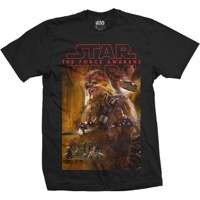 Star Wars: Chewbacca Composition T-shirt