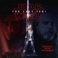 Star Wars: Calendar 2018 - The Last Jedi