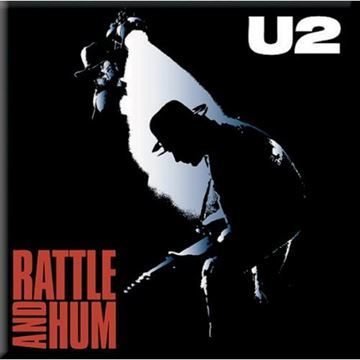 U2: Rattle And Hum Fridge Magnet