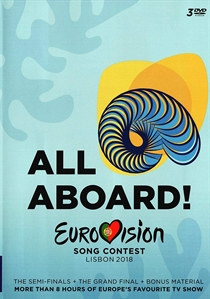 Various Artists: Eurovision Song Contest Lisbon 2018 (3xDVD)