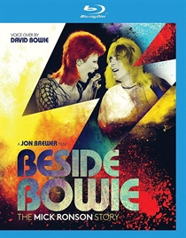 Various Artists: Beside Bowie - The Mick Ronson Story  (BluRay)