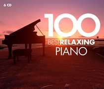 Various Artists: 100 Best Relaxing Piano (6xCD)