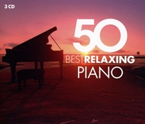 Various Artists: 50 Best Relaxing Piano (3xCD)