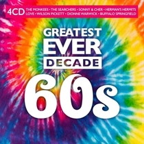Diverse Kunstnere: Greatest Ever Decade - 60s (4xCD)