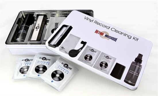 Vinyl Record Cleaning-kit